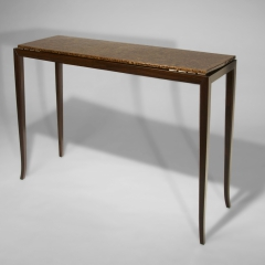 Urushi and Indian rosewood side table