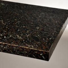 Detail of urushi table top